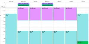 planear la semana simple